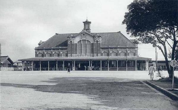 Железнодорожный вокзал в городе Тайчжун. Тайвань в период правления Японии (1895-1945 гг.)