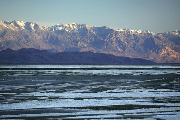 В середине 2001 года озеро Оуэнс, согласно обещаниям правительства, снова заполнили водой. Фото: David McNew/Getty Images