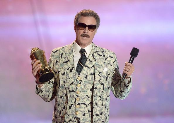 Уилл Феррелл - Гений комедий от MTV Movie Awards. Фото: Kevork Djansezian/Getty Images