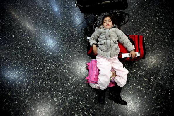 В Европе авиасообщение полностью парализовано. Фото: Jeff J Mitchell/Getty Images