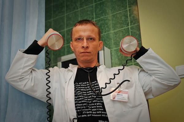 «Интерны». Заведующий терапевтическим отделением доктор Андрей Евгеньевич Быков в сериале «Интерны». Фото с сайта vokrug.tv