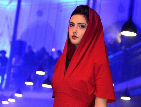 Неделя моды прошла в Тбилиси. Фото: VANO SHLAMOV/AFP/Getty Images