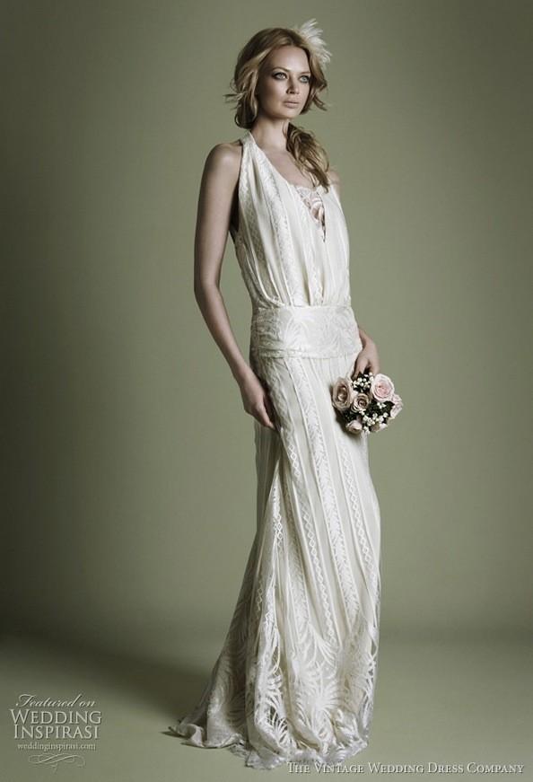 Винтажный стиль. Фото: weddinginspirasi.com
