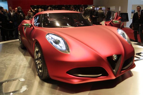 Alfa Romeo 4C. Фото:SEBASTIAN DERUNGS/Getty Images