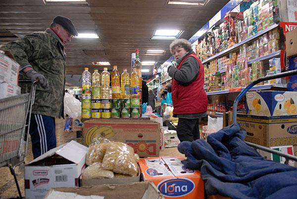 Торговля на Житнем рынке. Фото: Владимир Бородин/The Epoch Times