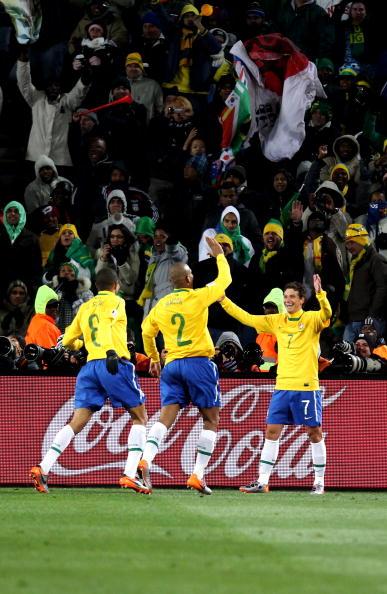 Бразилия – КНДР Stuart Franklin, Phil Cole, Richard Heathcote /Getty Images Sport