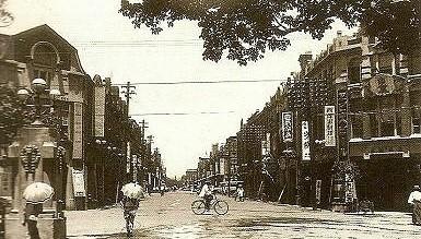 Улицы Тайваня в период правления Японии (1895-1945 гг.)