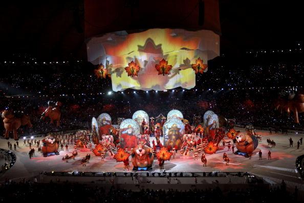 Церемония закрытия Зимних Олимпийских Игр состоялась в Ванкувере. Фото: AFP/Getty Images