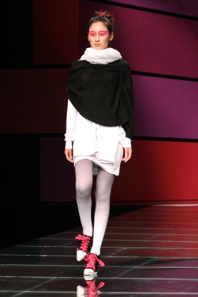 Презентация коллекции от Liu Yong на Неделе моды в Пекине. Фото STR/AFP/Getty Images