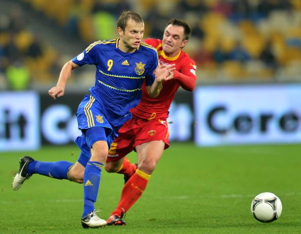 Украина - Черногория Фото: SERGEI SUPINSKY /Getty Images Sport
