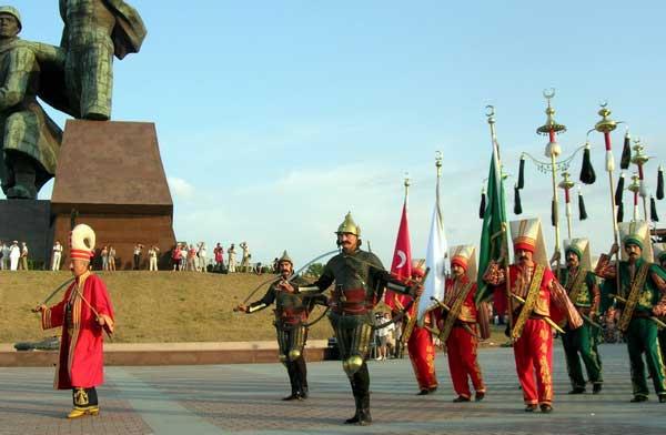 Международный фестиваль военных оркестров. Севастополь. Фото: Алла Лавриненко/The Epoch Times