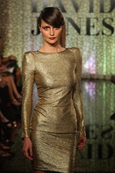 Модное шоу David Jones осень/зима 2011(2). Фото Lisa Maree Williams/Getty Images