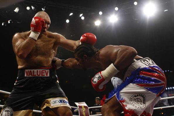Поединок Дэвид Хей-Николай Валуев завершился победой британца. Фото: Getty Images