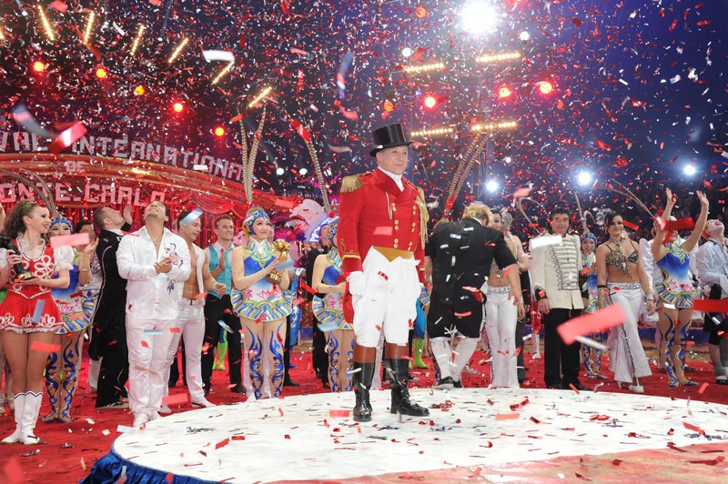 Монте-Карло, Монако, 22 января. 37-й международный фестиваль циркового искусства завершил свою работу. Фото: Luci/Princier Palais via Getty Images