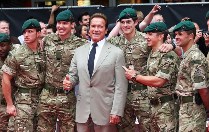 Лондон, Англия, 13 августа. Арнольд Шварценеггер на премьере фильма «Неудержимые-2». Фото: Chris Jackson/Getty Images