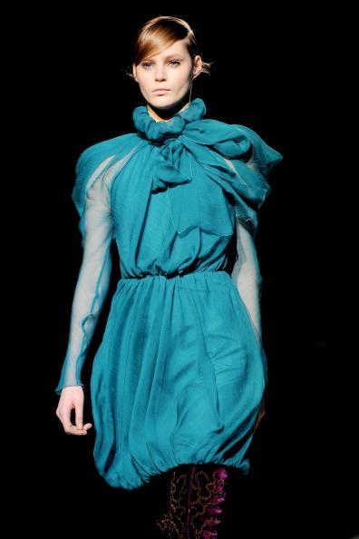Показ коллекции от Alberta Ferretti в Милане. Фото: Tullio M. Puglia/Getty Images