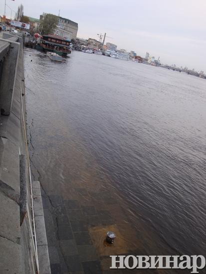 Наводнение в Киеве. Фото: novynar.com.ua