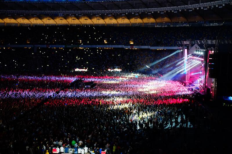 Концерт «Океана Эльзы» прошёл в Киеве. Фото: Велика Епоха