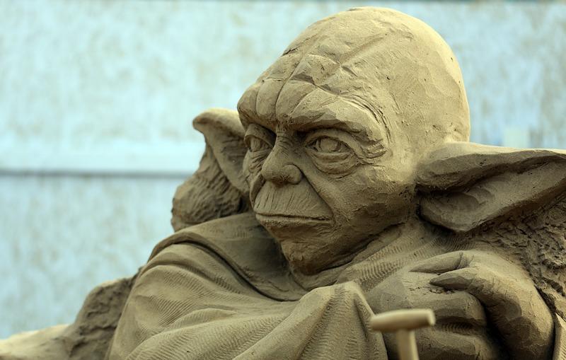Мастер Йода, «Звёздные войны». Фото: Matt Cardy/Getty Images