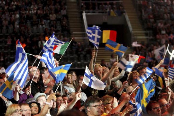 В первый день вместе с Петром Наличем на «Евровидения-2010» выступили участники из 17 стран. Фоторепортаж. Фото: CORNELIUS POPPE/AFP/Getty Images