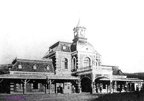 Железнодорожный вокзал в городе Цзилун. Тайвань в период правления Японии (1895-1945 гг.)