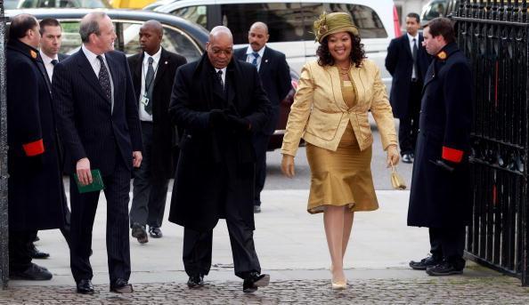 Королева Англии Елизавета II принимала президента ЮАР Джейкоба Зуму и его супругу в Букингемском Дворце. Фото: Getty Images