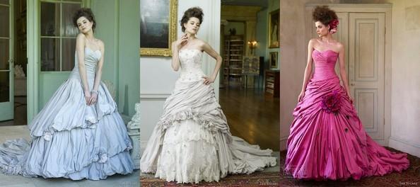 Свадебная коллекция 2013 от Яна Стюарта Фото: weddinginspirasi.com