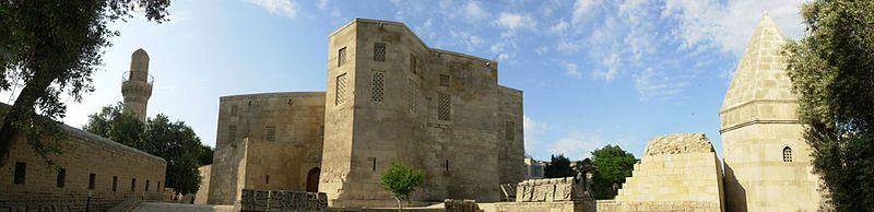 Дворцовая мечеть, дворец и мавзолей Сейида Йахья Бакуви. XV век. Фото: Emin_Bashirov/commons.wikimedia.org