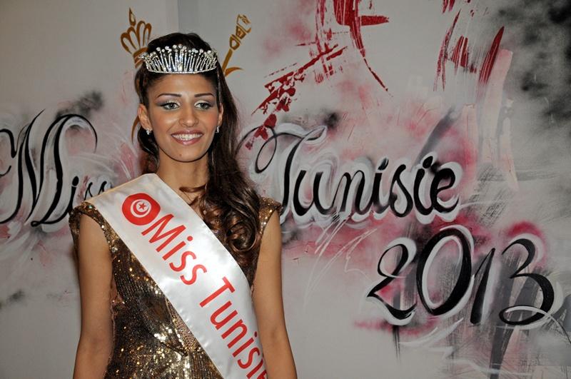 Тунис, 6 апреля. 22-летняя Хеба Талмоуди завоевала титул «Мисс Туниса 2013». Фото: RIDHA BEN JEMIA/AFP/Getty Images