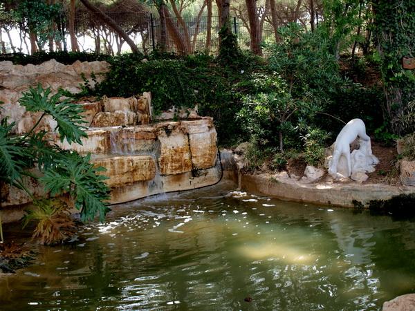 Хайфа, верхний парк у Бахаских ворот. Фото: Хава ТОР/The Epoch Times