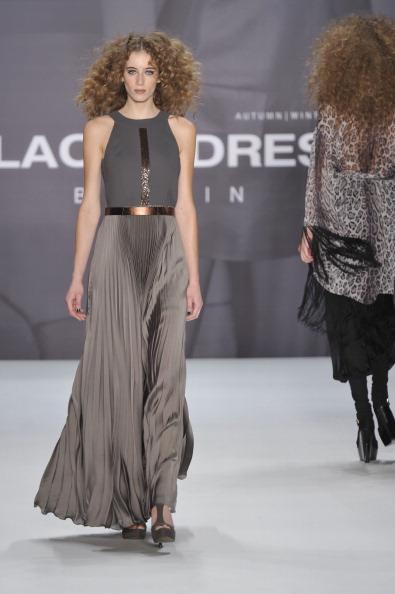 Показ коллекции Blacky Dress на Неделе моды Mercedes Benz в Берлине. Фото Gareth Cattermole/Getty Images