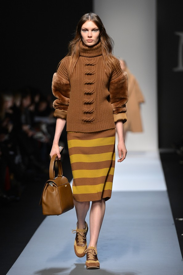 Коллекция сезона осень-зима 2013/14 на Миланской неделе моды от Max Mara. Фото: Tullio M. Puglia/Getty Images