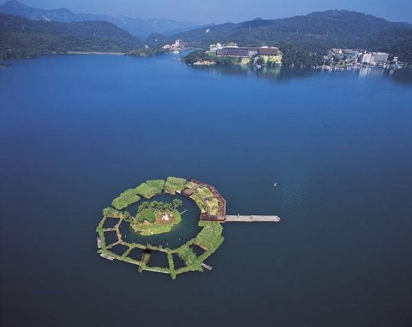 Остров Лалу на озере Жиюетан. Фото: The Epoch Times