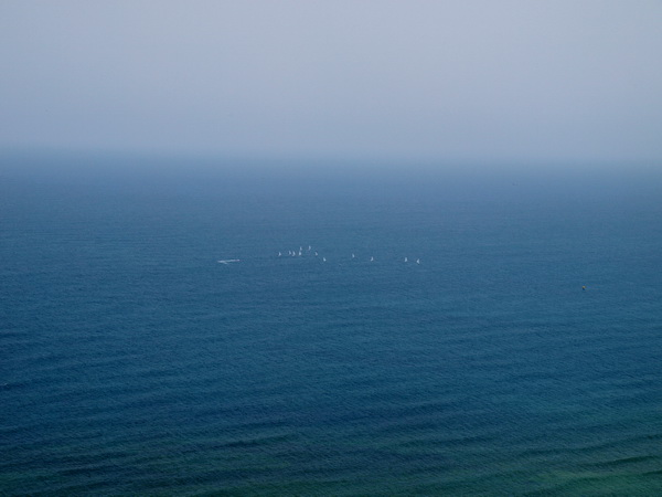 Хайфа, утреннее море. Фото: Хава ТОР/The Epoch Times
