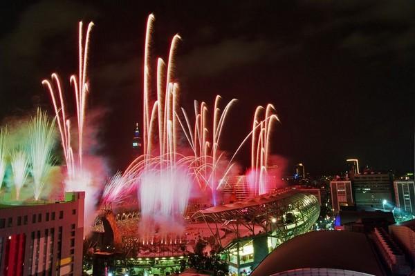 Церемония закрытия Сурдолимпиады в Тайване. 15 сентября 2009 год. Тайбэй. Фото с epochtimes.com