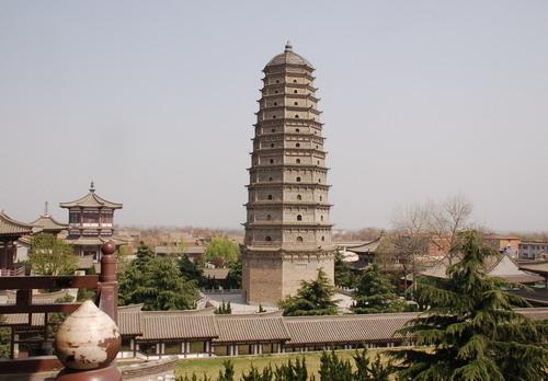 Современный храм Фамэнь. Провинция Шэньси. Фото с epochtimes.com