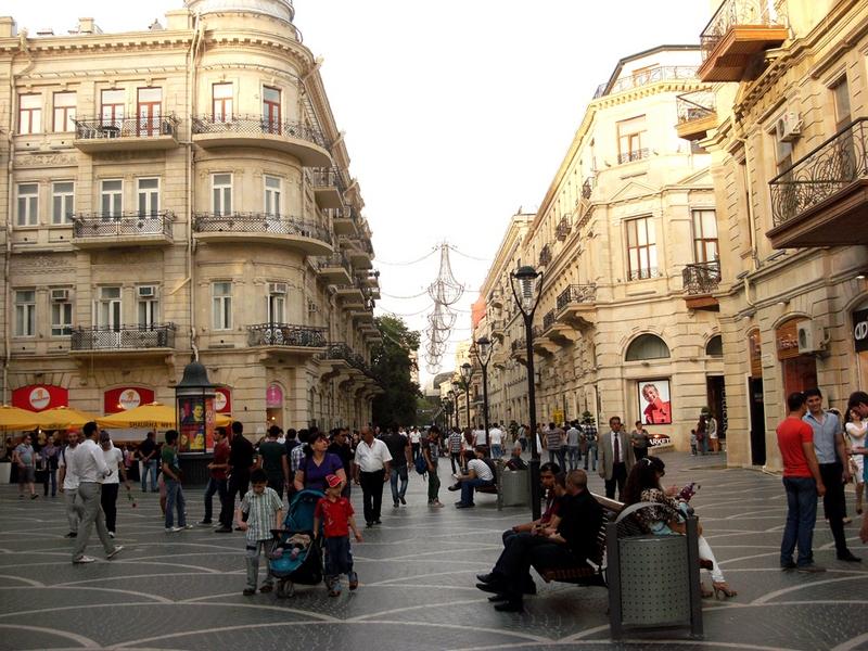 Улица Низами. Фото: Khortan/en.wikipedia.org