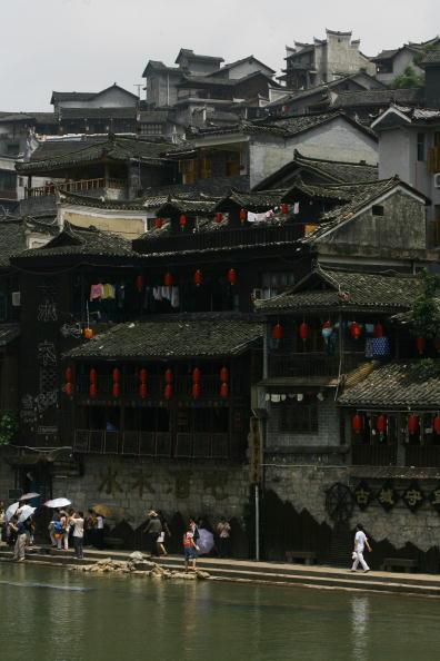 Древний городок Фэнхуан. Фото: China Photos/Getty Images