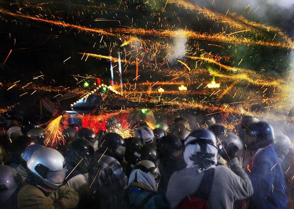 Праздник фонарей Юаньсяо в Китае. Тайвань. Фото: ЦАН