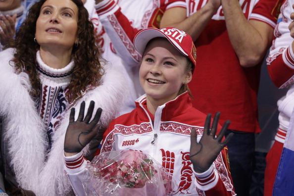 Юлия Липницкая Фото: DARRON CUMMINGS/AFP/Getty Images