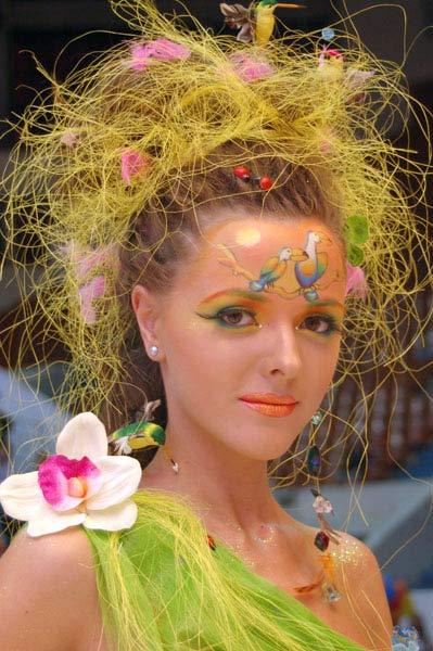 Конкурс визажистов. Фото: Ирина Оширова/Великая Эпоха