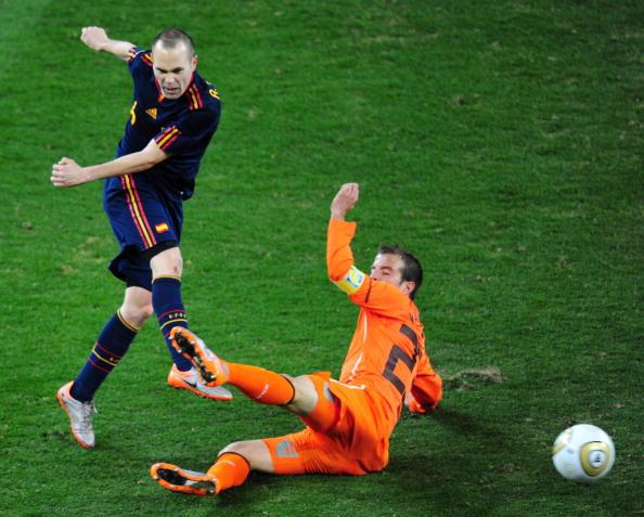 Голландия – Испания Фото:Laurence Griffiths, Doug Pensinger /Getty Images Sport