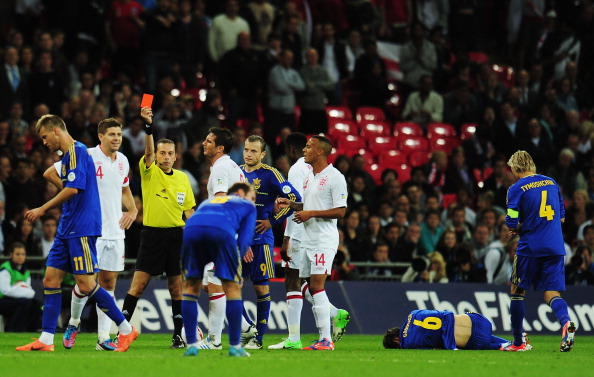 Англия — Украина Фото: Laurence Griffiths, Clive Mason, Shaun Botterill/Getty Images Sport