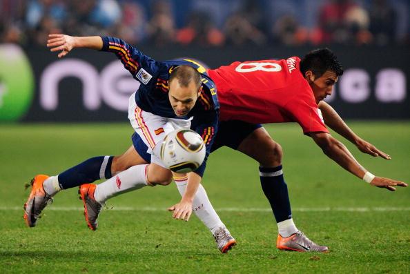 Чили – Испания Фото: Ian Walton, Phil Cole /Getty Images Sport
