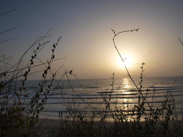Хайфа, вечернее море. Фото: Хава ТОР/The Epoch Times