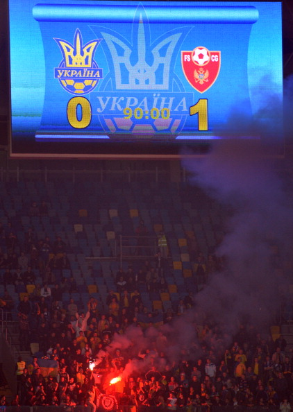 Украина - Черногория Фото: SERGEI SUPINSKY /Getty Images Sport
