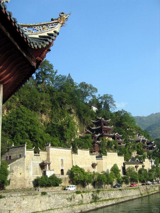 Древний поселок Чжэньюань. Фото: aboluowang.com