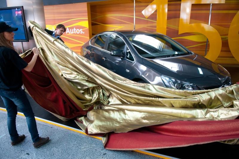 Столичное Автошоу 2012 открылось в Киеве 7 сентября. Фото: Владимир Бородин/Великая Эпоха