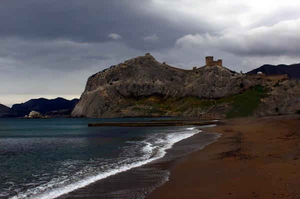 Генуэзская крепость в Судаке. Фото: Ирина Рудская/The Epoch Times Украина