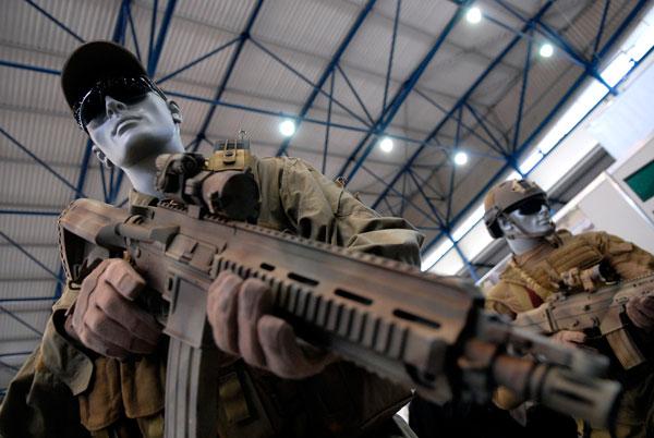 Выставка Оружие и безопасность — 2009. Фото: Владимир Бородин/The Epoch Times